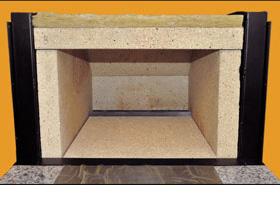ピザ窯の特徴② 高い蓄熱性能の石窯