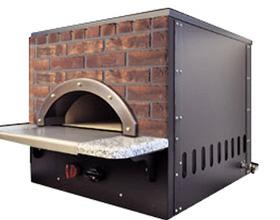 ピザ窯の特徴⑤ 前面煉瓦パネル仕様